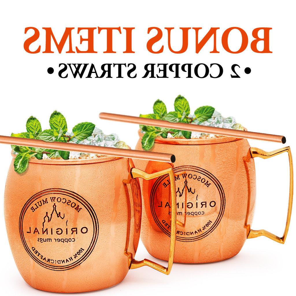 MOSCOW COPPER Set 100% HANDCRAFTED Food Safe