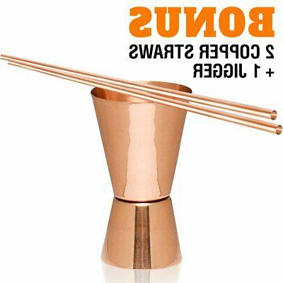 Moscow Copper - 2-100% HANDCRAFTED Pure