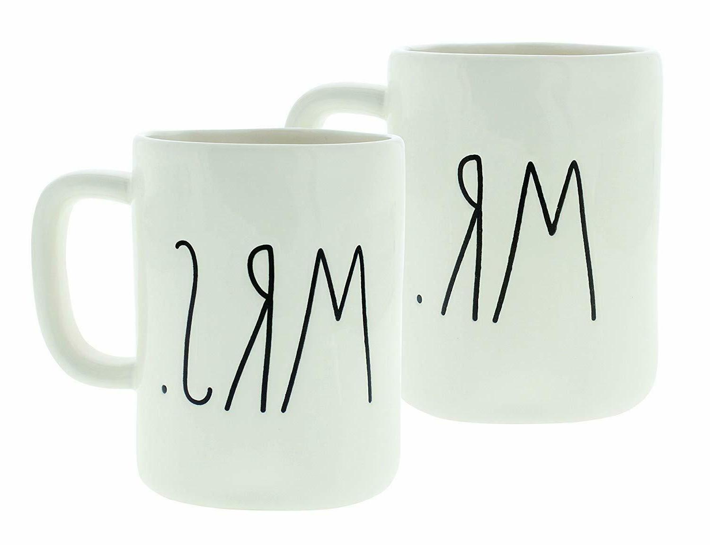 mr and mrs mug set new
