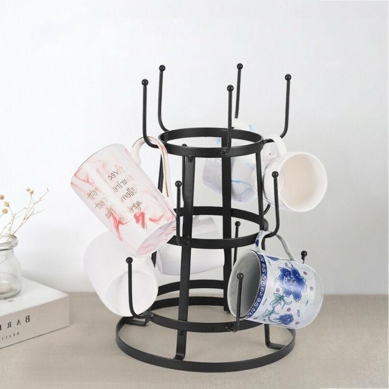 Mug Tree Holder Coffee Cup Tea Drying Rack Stand Storage Org