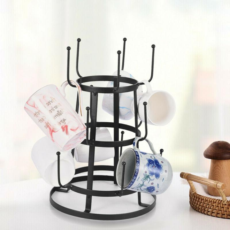 Mug Tree Holder Cup Stand Storage Organizer