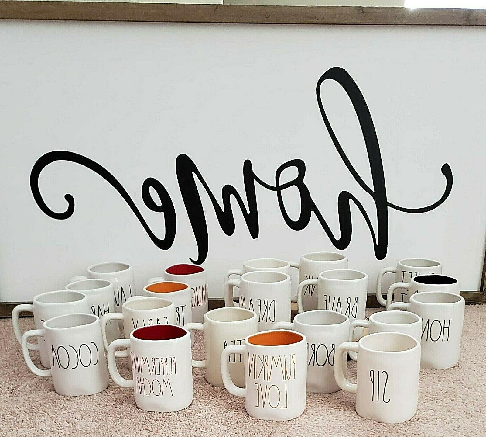 mugs many to choose from brand new