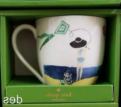 Kate VACATIONER 12 Coffee Cup Tea MUG ~ NIB