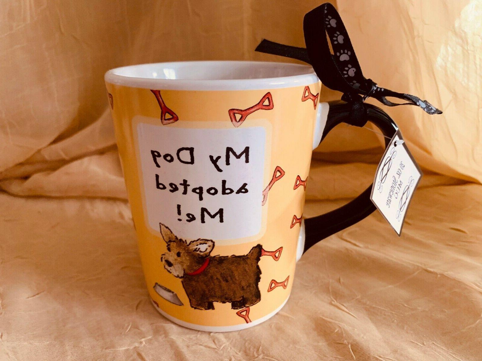 my dog adopted me coffee cups mug