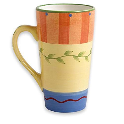 napoli latte mug