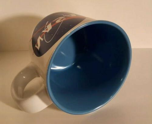 NASA Coffee Tea Cup oz Ceramic Pottery Microwave & Dishwasher Safe