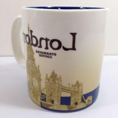 NEW 16oz Starbucks Coffee Mug Global Idol City London Collec