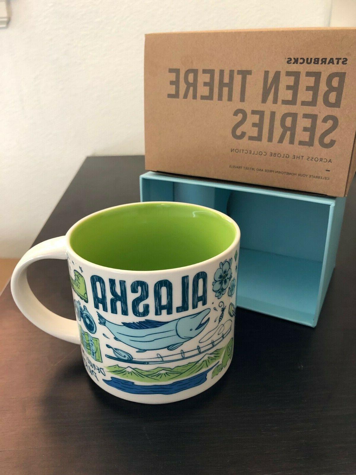 New Starbucks ALASKA 14oz Coffee Mug
