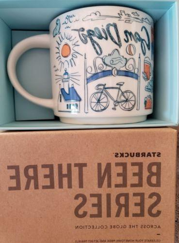 NEW Starbucks San Diego Been There Series Mug LIMITED EDITIO