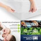 NEW Waterproof Bedspread Mattress Pad Protector Anti Dust Be