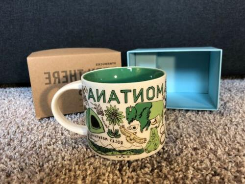 NIB Starbucks Series Collection Montana 14 Oz Mug Limited