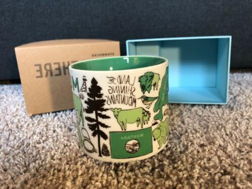 NIB Starbucks Series Oz Mug Limited