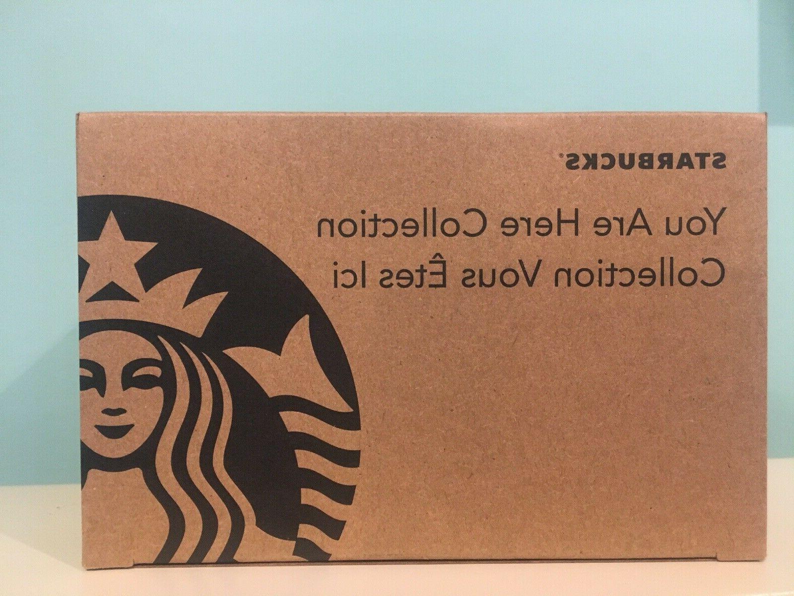 NIB Starbucks You Here Niagara Mug NEW 14 oz Coffee