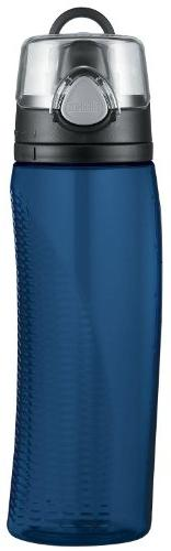 Thermos Nissan Intak Hydration Bottle with Meter, Blue