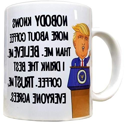 nobody knows coffee than trump