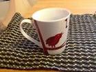 nwot 2012 red fox red bird coffee