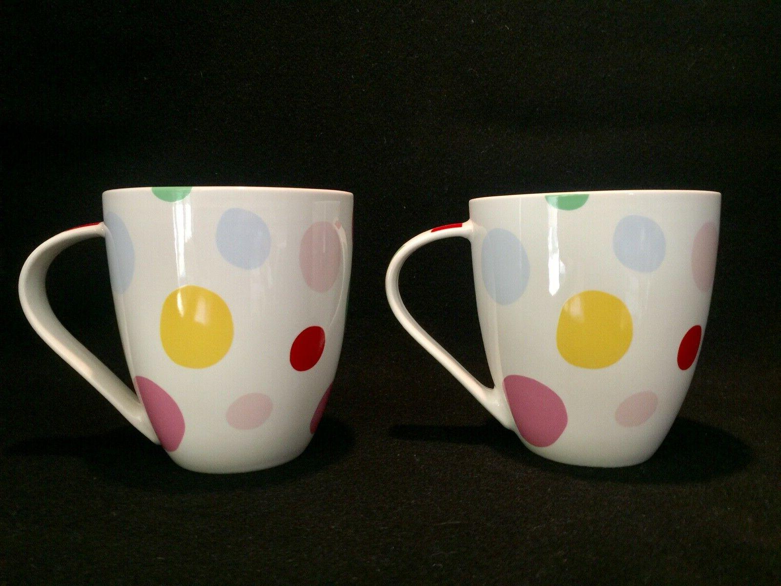 NWT Large Mugs Pattern Queens