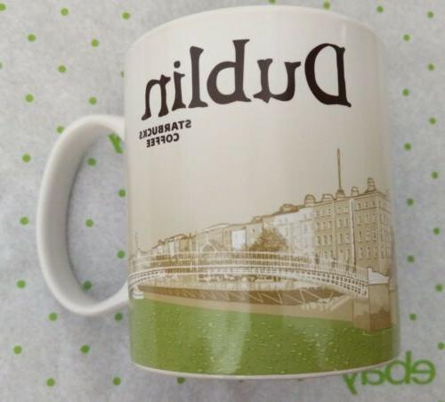 NWT Starbucks DUBLIN Ireland Global Icon City Collector Seri