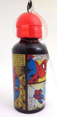 Original Marvel KIDS Spider-Man Canteen Metal Water Bottle B