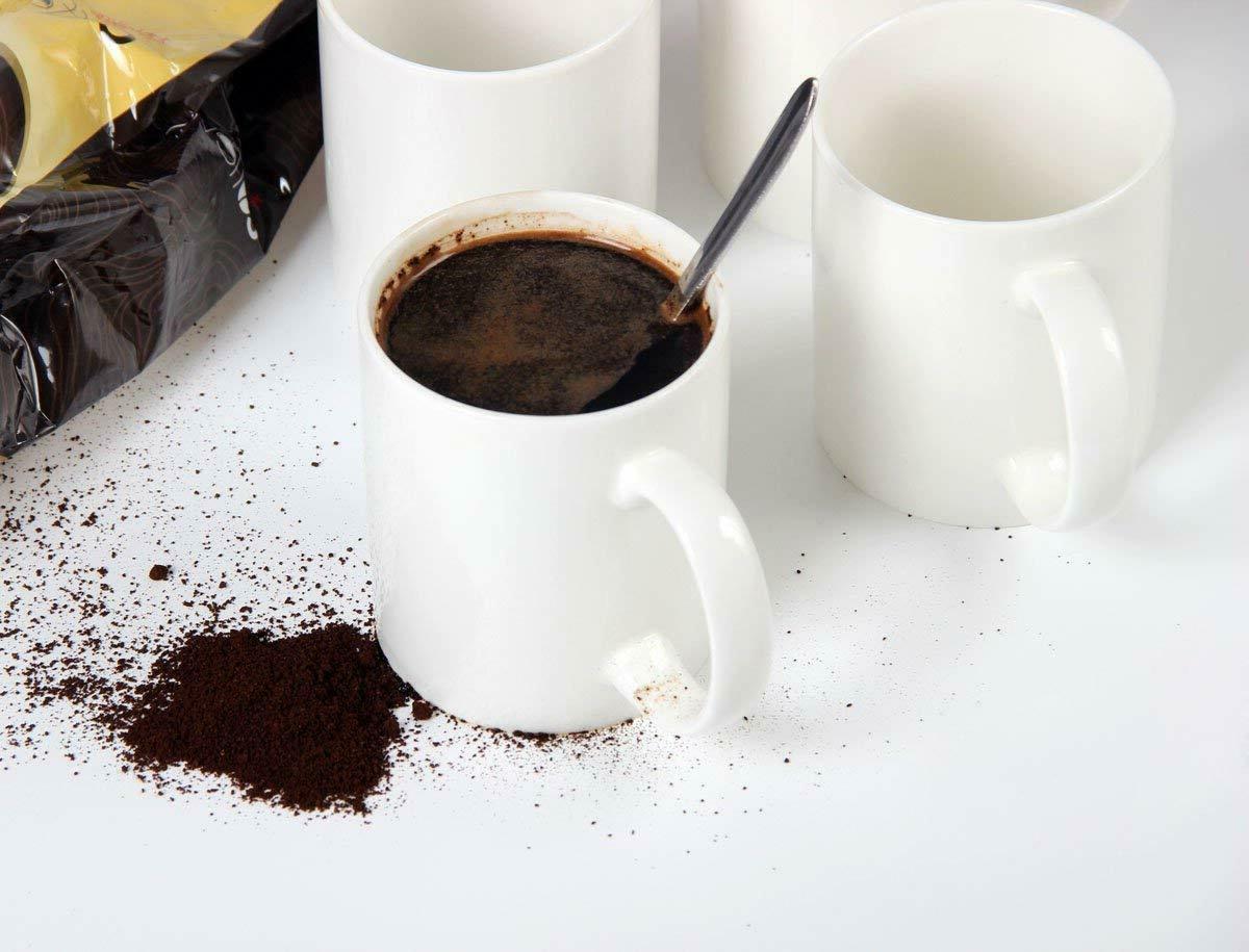 Pack of Gloss White Ceramic Mug for Tea, Classic White