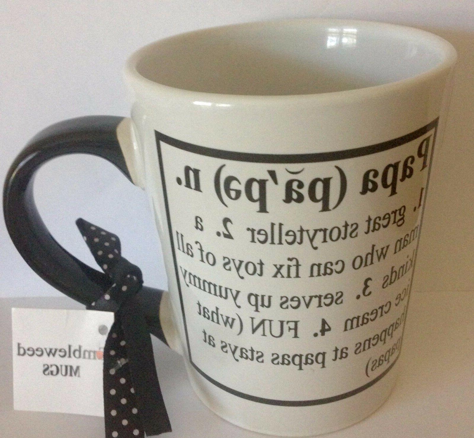 Tumbleweed Coffee Mug Papa Definition  20 Ounce Large Big Cu