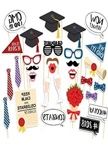 photo booth props graduation 2018