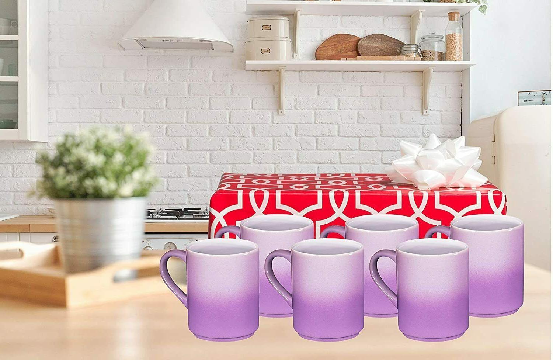 Bruntmor Cups Mugs Set Large 12 OZ Gradient