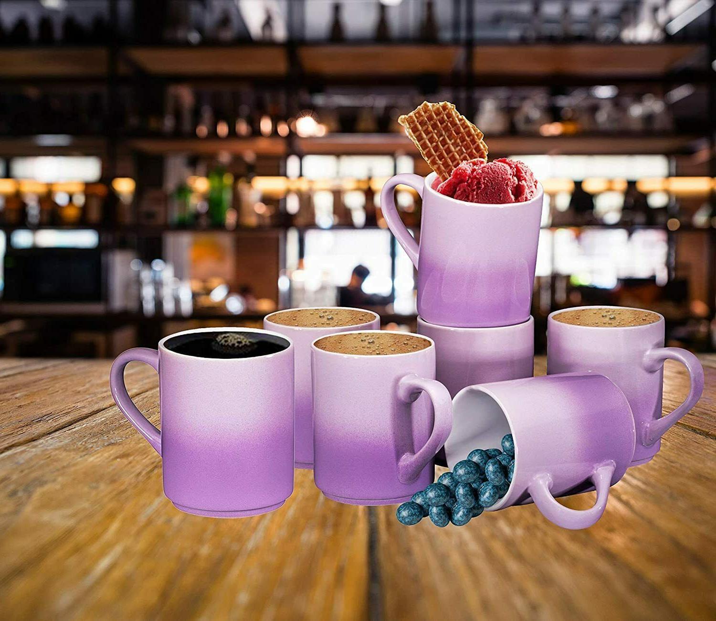 Mugs Large sized OZ Gradient Purple