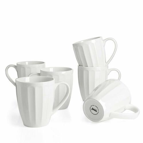 Sweese Porcelain - 14 Ounce Coffee, of 6