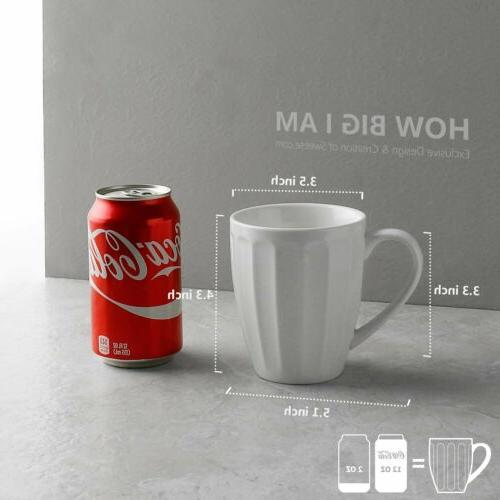 Sweese Mugs - Ounce Coffee, Tea, of
