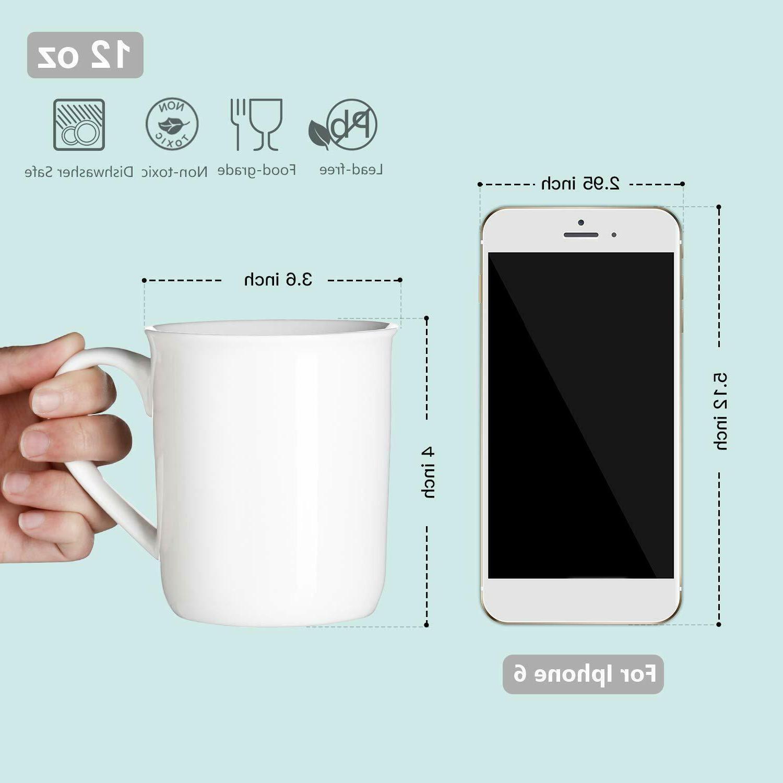 Porcelain Coffee Set - for White Set 6