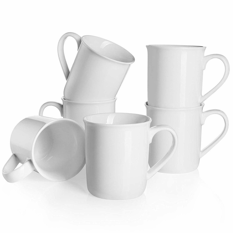 porcelain mugs coffee mug set 12 oz