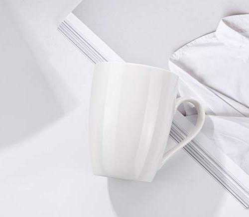 MIWARE Mugs, Tea Coffee Set, White