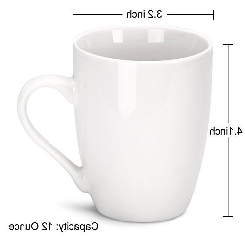 MIWARE 12 Porcelain Mugs, Tea and Coffee Mug