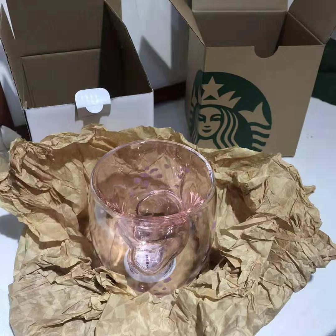 Pre-Order Sakura Cat Glass Cup Mug