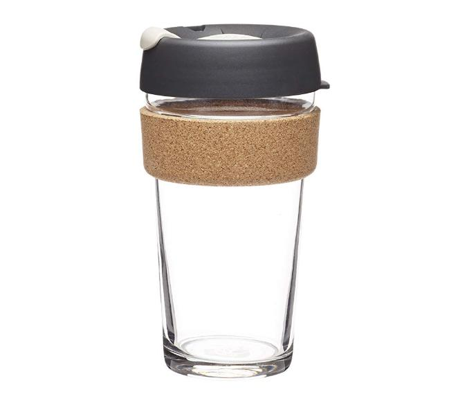 reusable coffee cup and mugs toughened glass