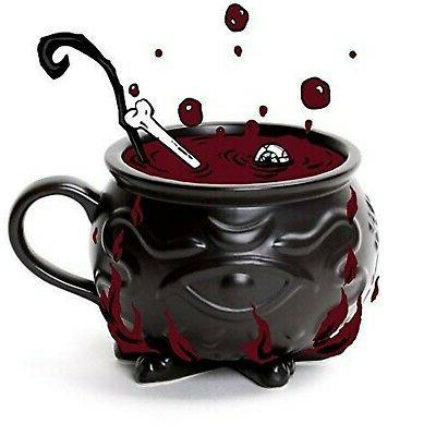 Rogue Wolf Cauldron Coffee Mug Gift Box 3D Novelty Mugs