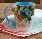 The Pioneer Woman, Rose Shadow, 24 oz Jumbo Latte Mug - Cup