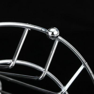 Round Glass Stand Drain Cup Holder Rack