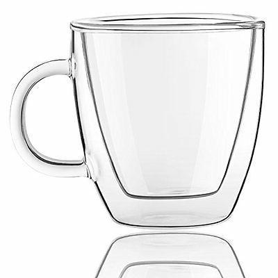 Savor Double glasses Espresso Of 5.4-Ounces Tea