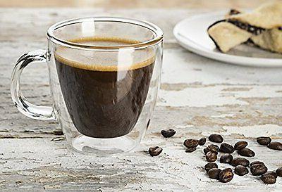 Savor glasses Espresso Set Of 2 5.4-Ounces Tea