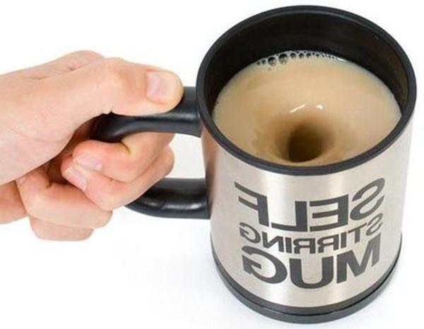 400ml Self Stirring Mug Coffee Cup Auto Mixer Drink Tea Home
