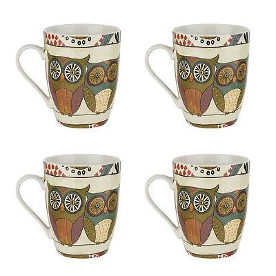 set of 4 mugs spice road tea