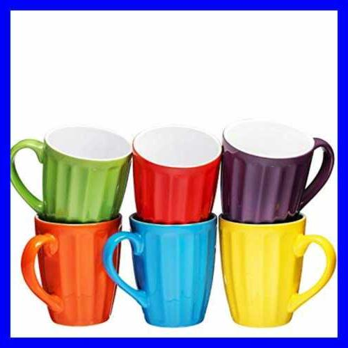 Set Of Sized 16 Ceramic Coffee Color Kitchen