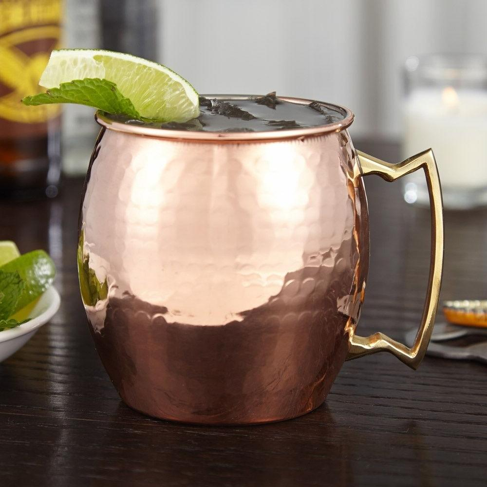 SET HAMMERED 20 OUNCE MOSCOW MULE MUGS CUPS mug