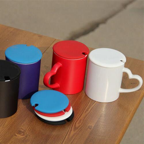 Silicone Anti-dust Glass Coffee Cup Cover Coffee Mug Seal Su