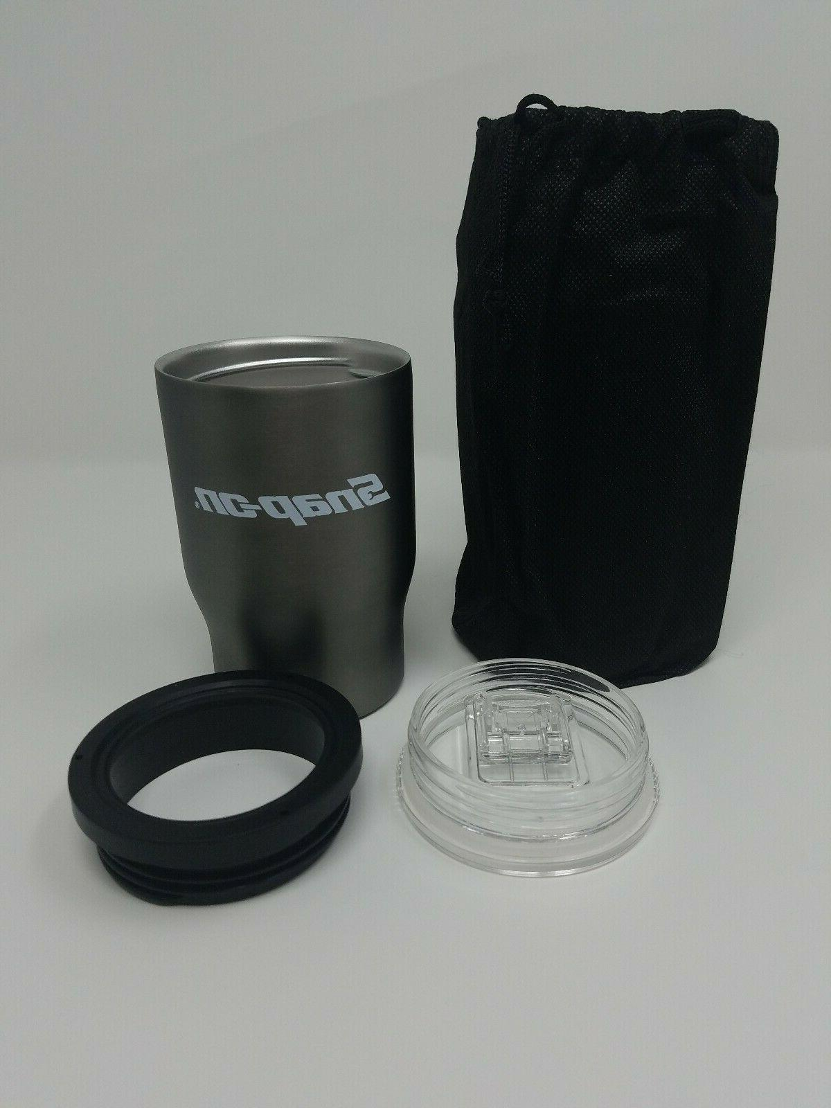 snap on 12oz stainless steel 3 in