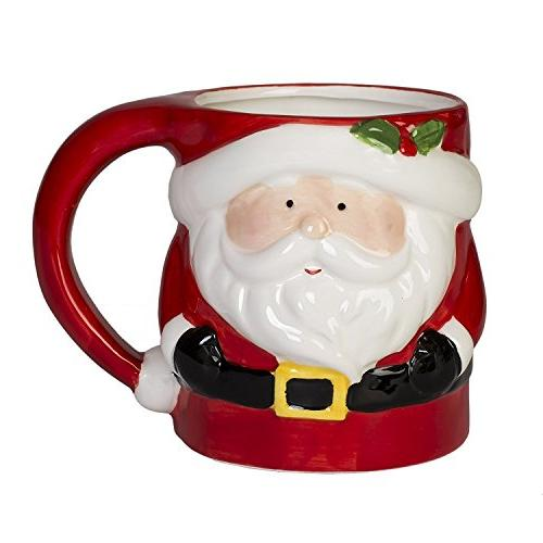Set 4 Snowman, Gingerbread Penguin ounce Holiday Mugs