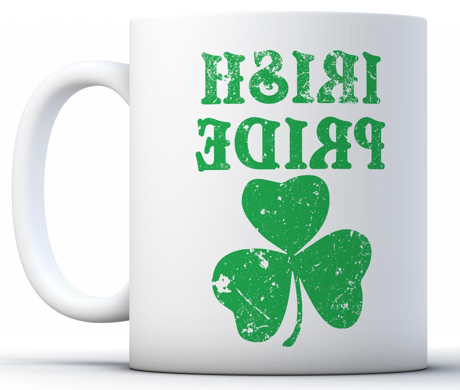 st patrick s day mugs irish pride
