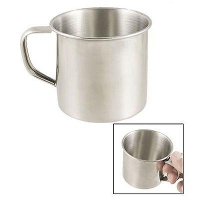 Stainless Steel Coffee Tea Mug Cup-Camping/Travel 3.5  _DM